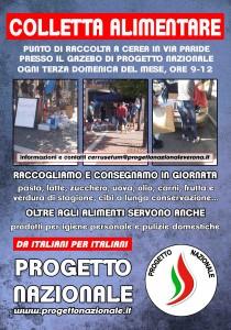 COLLETTA ALIMENTARE_poster