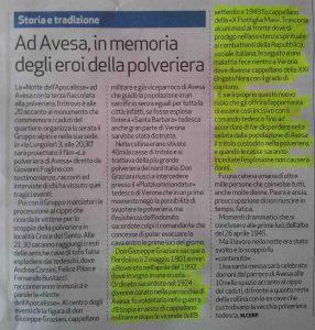 POLVERIERA DI AVESA_articolo_L'Arena_24-04-2016-bassa